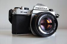 [EXCELLENT] PENTAX K1000 + SMC Pentax-M 50mm f/1.7  | METER WORKS | FILM TESTED