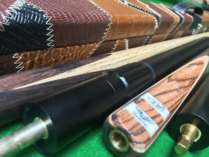 New 3/4 LP Classic Cue Handmade Ash Snooker Cue set With Case Extension