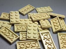LEGO Plates Tan 2x4 LOT OF 20 - NEW - 3020