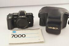 Minolta AF 7000 analoge Spiegelreflexkamera mit Tasche # 5075