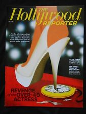 THE HOLLYWOOD REPORTER MAGAZINE REVENGE OF THE OVER-40 ACTRESS