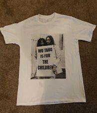 Gráfico de hombre Wutang Clan es para los niños John Lennon Camiseta Blanca Tamaño Mediano