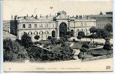 CP 80 Somme - Amiens - La Gare