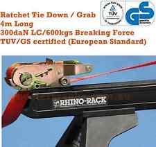Ratchet Tie Down Grab for Rhino Rola Whispbar Heavy Duty Cross Bars Roof Racks