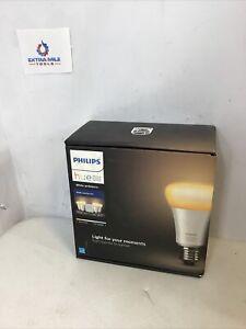 Philips Hue White Ambiance Smart Bulb - 4 Bulb Starter Kit(O)