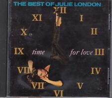the best of julie london time for love cd 1991