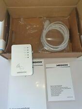 Medion WLAN Repeater Wireless LAN Verstärker Amplifier neuw. B-Ware MD 86464