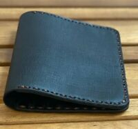 New Cordovan Premium Leather Handmade black Card/ID Card Holder Wallet