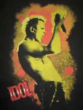 2010 BILLY IDOL Concert Tour (LG) T-Shirt REBEL YELL WHITE WEDDING