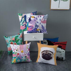 Tropical Flamingo Cushion Cover - 45 x 45 cm
