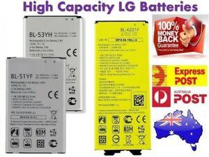 Replacement Battery for LG G2 G3 G4 LG G5 G6 G7 V10 V20 V30 V30+ V40 | AU Stock