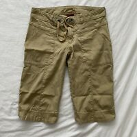 The North Face Womens Hiking Shorts Beige Size 4 Drawstring