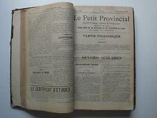 LE PETIT PROVINCIAL - 1896 -RELIURE du JOURNAL LE PETIT PROVINCIAL daté de 1896
