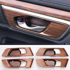 For Honda CRV CR-V 17-18 Peach Wood Grain Car Interior Bowl Panel Covers Trims