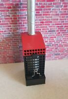 3d printed 1:18 scale WASTE OIL BURNER / HEATER for garage diorama