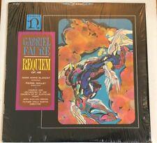 Gabriel Faure Requiem OP. 48 RARE out of print vinyl LP record