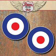 MOD Raf Laminated Stickers x2 150mm scooter Vespa motorcycle car mini decal b