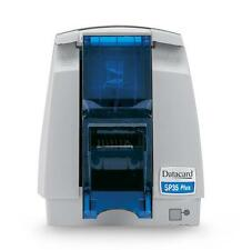 DATACARD SP35 COLOR THERMAL ID BADGE PLASTIC PVC ID CARD PRINTER 90 DAY WARRANTY