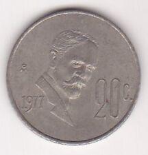 Estados Unidos Mexicanos 20 Centavos Coin 1977 !