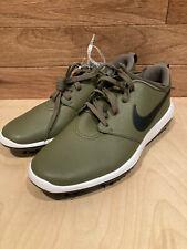 New listing Nike Men's Roshe G Tour Golf Shoes Medium Olive Size 10 AR5580-200