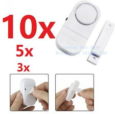 3/5/10X WIRELESS Home Window Door Burglar Security ALARM System Magnetic Sensor