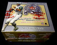 Fleer 2000 NFL Greats of the Game Football Trading Card Box New still SW Box