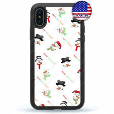 Let It Snow Merry Christmas Phone Case For iPhone 11 Pro Max Xs XR 8 Plus 7 4