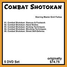Combat Shotokan featuring Emil Farkas (5 DVD Set)