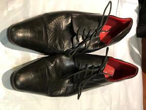 Mens Shoes Jimmy Bee  Size 10 Colour Black