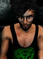 IMVU Male Account, AP, NameChange, Freak Goth Punk Psycho Trippy Styles & Rooms
