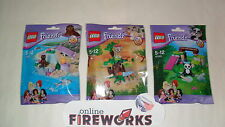 Lego Friends Series 6 Set of 3 ---- 41047 Seal 41048 Lion Cub 41049 Panda Bamboo