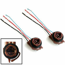 2x 3156 3157 4157 Pre-Wired Harness Socket For LED Signal Brake Turn Light