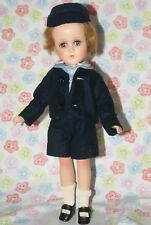 Excellent! Vintage Arranbee Composition R&B Boy Doll Unplayed With All Original