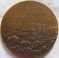 MED9919 - MEDAILLE SOCIETE DE TIR ROUEN CONCOURS INTERNATIONAL 1914 par MATTEI