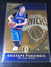 2016-17 Gold Standard #25 Kristaps Porzingis /79 Knicks
