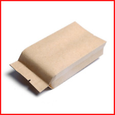 Food Coffee And Tea Pouches Thickening Kraft Paper Bags Heat Seal Packaging Bag