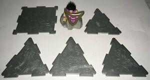 Burger King 1996 Yu-Gi-Oh! Gardna pullback toy and pyramid wall panels