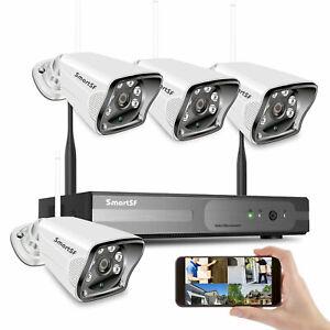 8CH Wifi Wireless Home Security Camera System NVR 1080P CCTV IR Night Vision