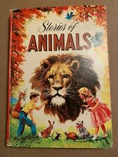 "Vintage 1947 ""Stories of Animals"" Virginia Cunningham, Whitman Pub. Hardcover"