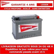 Hankook XV75 Batterie de Loisirs Pour Caravane, Camping Car 12V 75AH