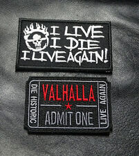 MAD MAX VALHALLA LIVE AGAIN MOVIE TICKET FURY ROAD HOOK PATCH BY MILTACUSA