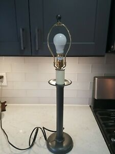 Hubbardton Forge Modern Arts Mission Wrought Iron Table Lamp light 3 way