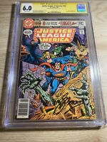 Justice League Of America #182 CGC 6.0 SS Gerry Conway feat. Elongated Man