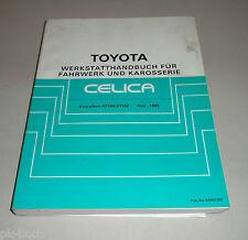 Werkstatthandbuch Toyota Celica AT160 / ST162 Serie Karosserie Fahrwerk 08/1985