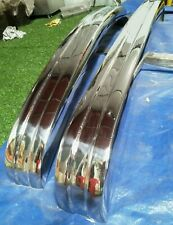 BUMPERS VW Karmann Ghia Type 3(1970-1973) Stainless steel POLISHED 304