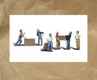NEW: Woodland Scenics DOCK WORKERS People Figures ~ Mayhayred Trains N Scale Lot