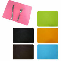 Silicone Place Mat Non-Stick Sheet Oven Heat Insulation Pad Coasters Bakeware US
