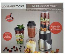 12 tlg. Blender GOURMETmaxx 8in1 Multi Standmixer Smoothie Maker Milchshaker Neu