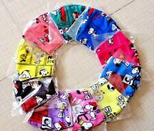 5 PACK Face Mask lot ADULT teen Snoopy PEANUTS gang Filter pocket Mega mix fun