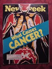 NEWSWEEK magazine January 26 1976 WHAT CAUSES CANCER?